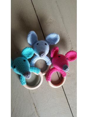 Rammelaar/bijtring  muis