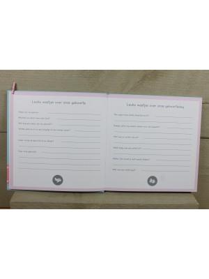 Kraambezoekboek voor Tweeling