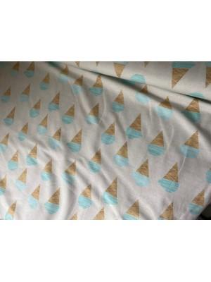 Blauwe ijses About blue fabrics