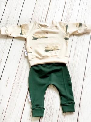 Broekje donkerste groen