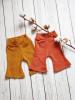 Flare pants oranje/bruin