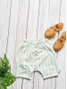 korte broek stripes green