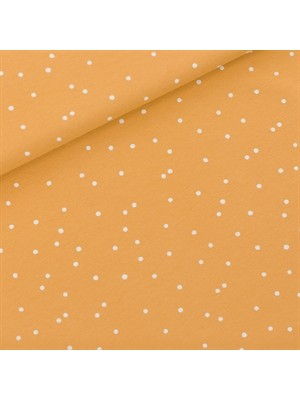 Snow Dots - M - French Terry - Honinggeel