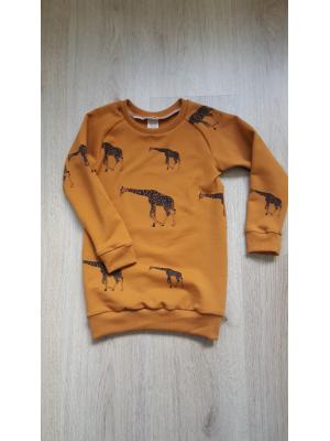 sweater dress giraffe