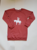 sweater dress marsala rood unicorn