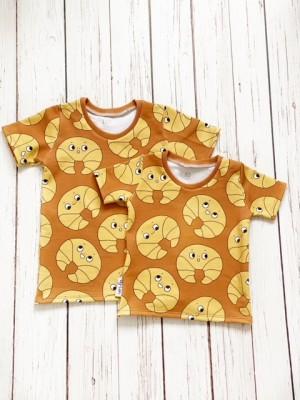 t-shirt croisantje