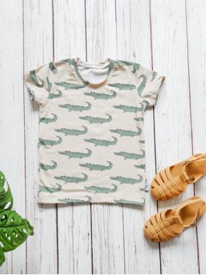 t-shirt krokodil